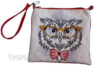 Набор для вышивки бисером Пошитая сумка Чеширский кот