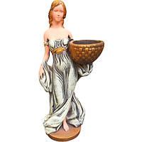 Скульптура Девушка с корзиной С202 67х22х33 см