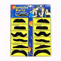 Накладные усы для вечеринок (mustache party)