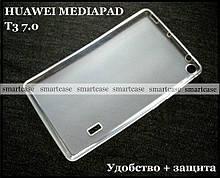 Силіконовий чохол для Huawei Mediapad T3 7 Wi-Fi (BG2-W09) прозорий