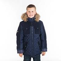 Детская зимняя куртка для мальчика, размеры 30 - 40