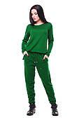 Зеленый женский спортивный костюм