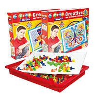 Набор игровой Мозаика 370 элементов