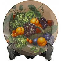 Декоративная тарелка Фрукты в ассортименте 21 см