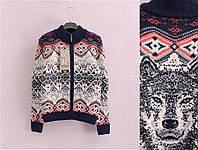 Модный свитер на замке для мальчика на возраст 8, 12лет Турция;Tossy