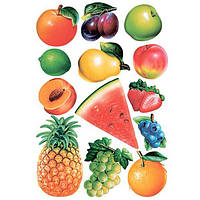 Декоративная наклейка Ассорти фруктов 49x70 см