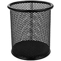 Подставка для ручек Deli круглая сетка 9х9.8 см