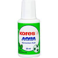 Корректор Kores Aqua K69101 с кисточкой 20 мл