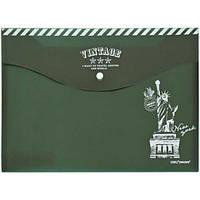 Папка-конверт Deli Vintage Time 5631 микс