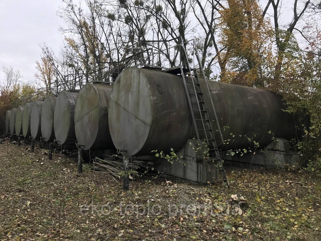 Резервуары железные 50 м3