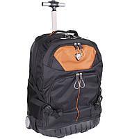 Вместительный рюкзак на колесах