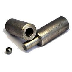 Петля приварная диаметр 22 мм. высота 115 мм.