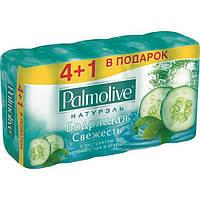 Мыло Palmolive Натурэль Зеленый чай и огурец 5х70 г