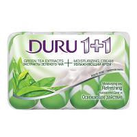 Мыло Duru 1+1 Зеленый чай 4х100 г