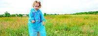 Дождевик детский на липучках