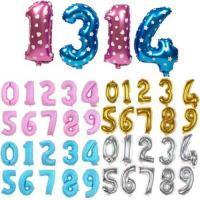 Фольгированные цифры с гелием в Виннице 65 см. - Интернет магазин товары для праздника и свадебные аксессуары Аладдин в Виннице