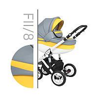 Универсальная коляска 2в1  Baby Merc Faster Style 2 FII/8