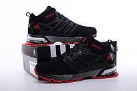 Зимние кроссовки с мехом Adidas Neo Winter Black/Red