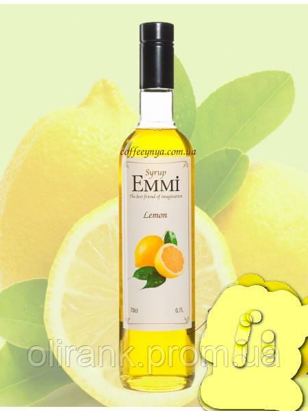 """Сироп Лимон TM """"Emmi"""" 900гр"""
