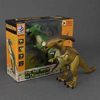 Динозавр 9987 А  подсветка, звук, ходит, двигает головой, на батарейке, в коробке