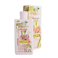 Шампунь Чесночный Pharma Bio для укрепления и роста волос 200 мл