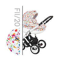 Универсальная коляска 2в1  Baby Merc Faster Style 2 FII/20