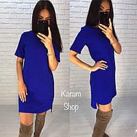 Женское платье креп костюмка  Модель 5059 СК