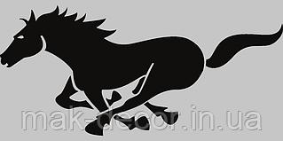 Виниловая наклейка на телефон - Лошадь 4х7 см