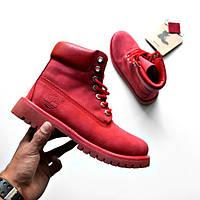 Женские ботинки  Timberland Boots Red 38