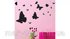 Виниловая наклейка-бабочки4 набор(от 20х20 см)