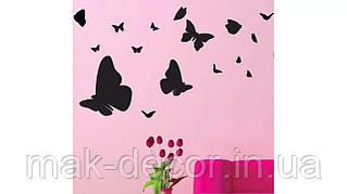 Вінілова наклейка-Метелики 4 набір (від 40х40 см)