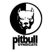 Виниловая наклейка на авто - pitbull