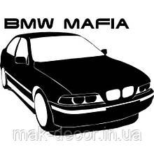 Виниловая наклейка - BMW MAFIA