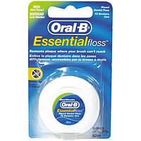 Зубная нить Oral-B Essential Floss Воскованная 50 м