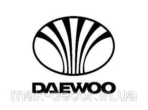 Вінілова наклейка на авто -daewoo