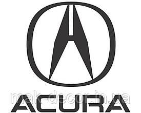 Вінілова наклейка на авто Acura