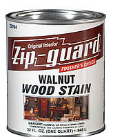Морилка для дерева Zip-Guard WOOD STAIN (орех) 0,946л