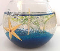 Свеча гелевая с морской звездой