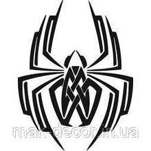 Вінілова наклейка на авто - павук 25