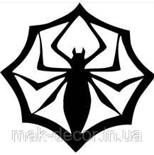 Вінілова наклейка на авто - павук 26