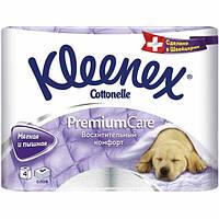 Бумага туалетная Kleenex Premium Comfort 4 шт