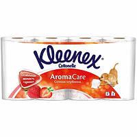 Бумага туалетная Kleenex Сочная клубника 8 шт