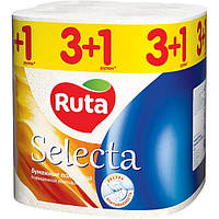 Полотенца бумажные Ruta Selecta 4 шт