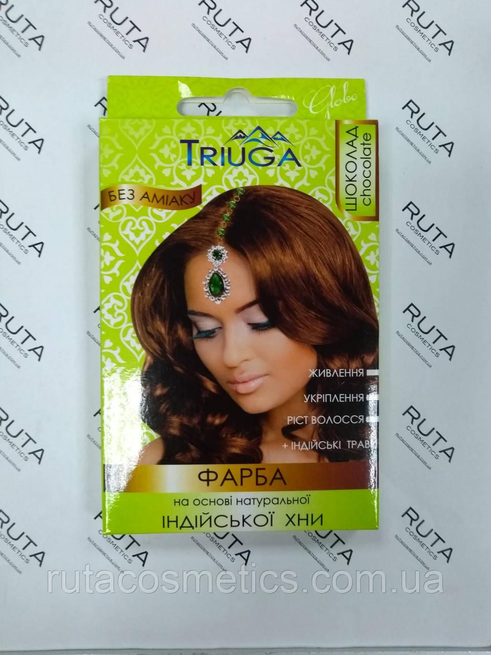 "Triuga Herbal Краска для волос на основе натуральной Хны ""Шоколад"""