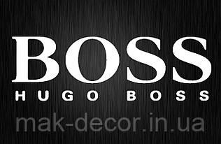 Виниловая наклейка  Boss (от 5х25 см)