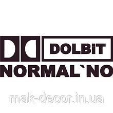 Наклейка на авто - Dolbit Normalno (різні кольори) (від 4х15 см)