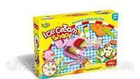Набор тесто для лепки Мороженое, 6 цветов, 11 предметов