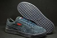 Синие кроссовки,кеды Staple x Puma Pigeon Pack