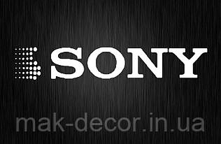 Виниловая наклейка Sony 2 (от 5х25 см)