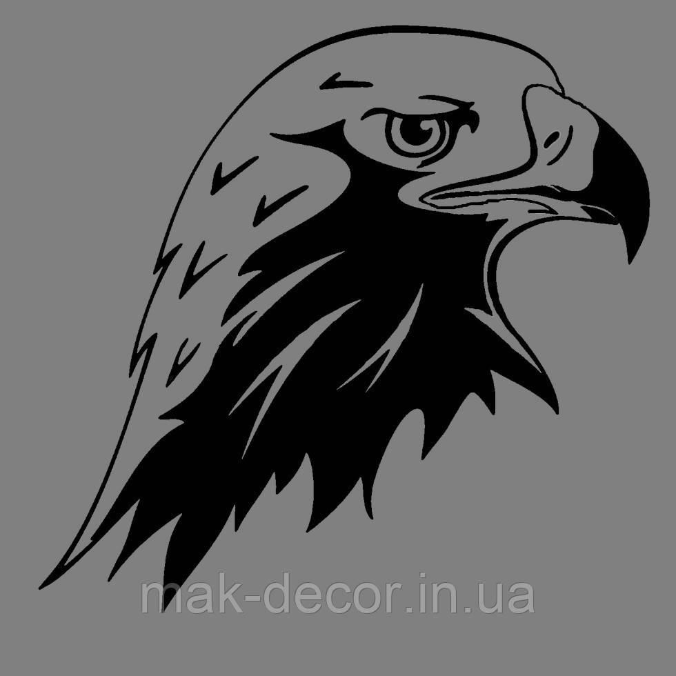 Вінілова наклейка Орел (від 10х10 см)